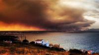 Evacuadas 100 personas por un incendio forestal en Girona