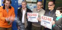 El 'Gordo' riega de millones a Leganés, Mondragón y Jaén