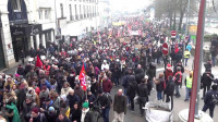Francia: continúan las manifestaciones de protesta contra la reforma del sistema de pensiones de Macron