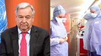 La ONU solicita un alto el fuego mundial para frenar la pandemia del coronavirus
