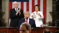 Demócratas boicotean y abandonan el discurso del Estado de la Unión de Trump