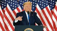 Trump declara falsamente haber ganado la reelección