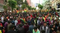 Estallan protestas en Bolivia tras acusaciones de fraude electoral