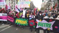 Continúa paro nacional de trabajadores en Francia por segundo día