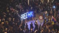 Miles de personas toman las calles en Hong Kong