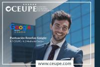 CEUPE es reconocida por Google como la mejor escuela online de posgrado en español