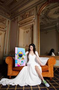 Helen Zhong expondrá su arte a nivel mundial