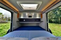 La mini caravana Caretta es la única caravana que se puede utilizar todo el año, gracias a su aislamiento