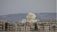 Al menos 25 muertos en un bombardeo sobre Idlib, Siria