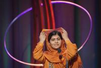 Malala Yousafzai recibe el Premio Sájarov de la Eurocámara
