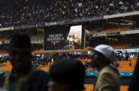 La familia de Mandela ya está en el Soccer City de Johannesburgo