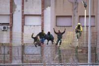 Llegan más de 200 inmigrantes al CETI de Melilla en un nuevo salto masivo