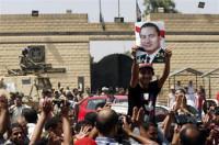 Mubarak pasa su primera noche fuera de prisión