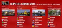 España arrancará el Mundial en el grupo de la muerte