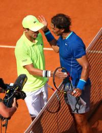 Rafael Nadal es el primer finalista del Mutua Madrid Open (6-4, 6-3)