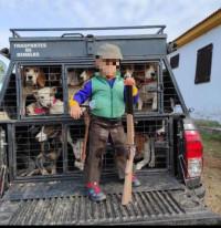 Educando a niños en la caza