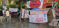 Primera reunión de IULV-CA tras la crisis de gobierno en Andalucía