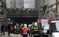 Una explosión en el centro de Praga deja 40 heridos