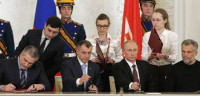 Crimea ya forma parte de Rusia y Kiev no reconoce la anexión
