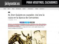 Don Quijote y la caza