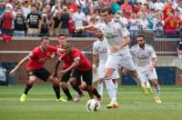 El Real Madrid cae ante el United en el estreno de Ronaldo