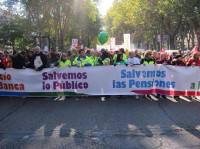 Las manifestaciones contra los recortes del Ejecutivo toman el país