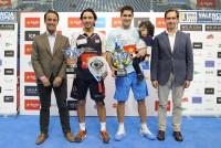 Sanyo Gutiérrez y Maxi Sánchez, campeones del Valencia International Open