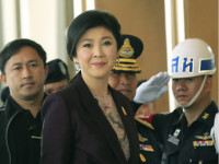 Yingluck abandona Bangkok en medio de las protestas