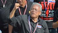El líder de las manifestaciones en Tailandia llama de nuevo a las protestas