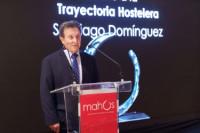 Santiago Domínguez, decano de la gastronomía de la Costa del Sol, nuevamente galardonado