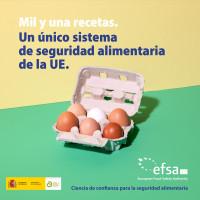 'La UE elige alimentos seguros', campaña para ayudar a la ciudadanía a tomar decisiones alimentarias informadas