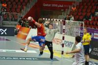 España debuta con victoria en el Mundial de Balonmano de Qatar
