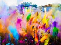 30.000 personas participarán en la cuarta Holi Run Madrid