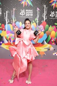 Rosalía, gran triunfadora de LOS40 Music Awards 2019