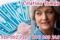 Tarot de Cristina Tomás – Vidente Cristina y tarotista muy buena real y fiable por teléfono