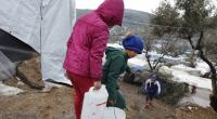 El campo que acoge a los refugiados de Moria, en Lesbos, no reúne las condiciones para afrontar el invierno