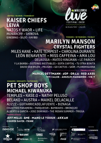 Marilyn Manson cierra la edición más internacional del Mallorca Live Festival