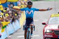 Quintana logra su tercera etapa en el Tour