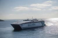La UE subvenciona el 50% de un proyecto de Baleària para monitorizar consumo de combustible y emisiones de los buques en tiempo real