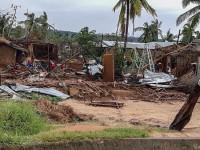 Las lluvias torrenciales por el ciclón Kenneth obstaculizan los esfuerzos de ayuda humanitaria en Mozambique