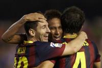 Postiga no hace sombra a Messi (2-3)