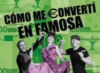 La obra teatral 'Cómo me convertí en famosa', los martes en el madrileño Teatro Lara