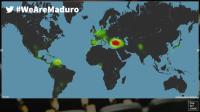 El impacto mundial de Venezuela en Twitter