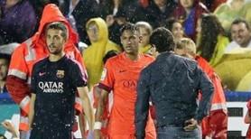 Neymar y Rakitic, dudas para Málaga