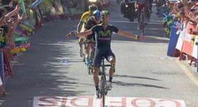 Valverde se exhibe en Cumbres Verdes y gana para recuperar el liderato