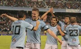 El Celta, líder tras golear al Rayo
