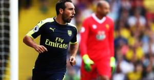 Cazorla deja el Arsenal tras seis temporadas