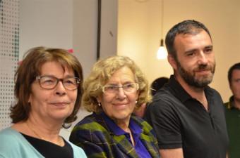 Carmena será cabeza de lista de Ahora Madrid con el 63,4% de los votos