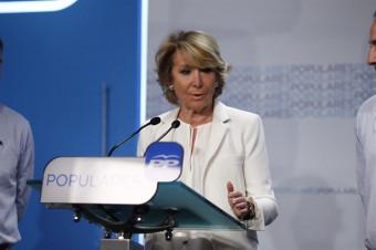 Aguirre ofrece un pacto a PSOE y Ciudadanos: