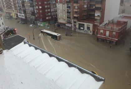 Málaga activa el Plan de Emergencias por las lluvias e inundaciones